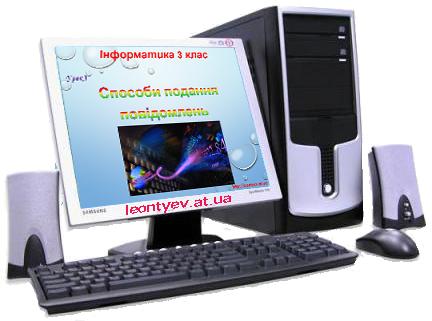 Інформатика 3 клас 3 урок